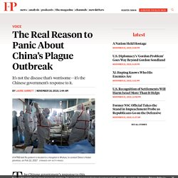 The Real Reason to Panic About China's Plague Outbreak