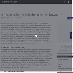 3-reasons-not-sell-after-market-downturn