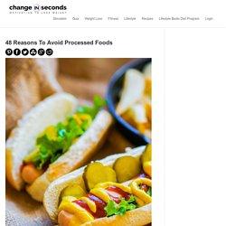 Processed Food List