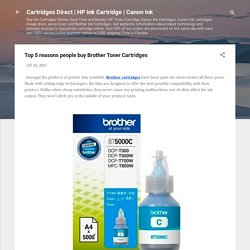 Top 5 reasons people buy Brother Toner Cartridges