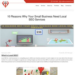 10 Reasons Why Your Small Business Need Local SEO Services - Mount Web Tech