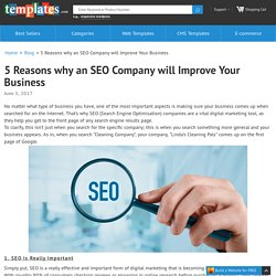 5 Reasons why an SEO Company will Improve Your Business - Templates
