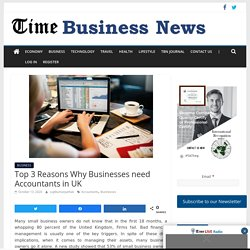 Top 3 Reasons Why Businesses need Accountants in UK