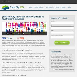 5 Reasons Why Now is the Time to Capitalize on Your Online Communities