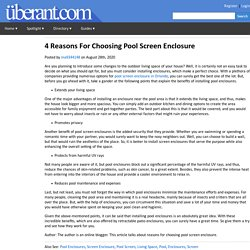 Find The Best Pool Screen Enclosure Service: Us-Aluminum