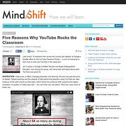 Five Reasons Why YouTube Rocks the Classroom