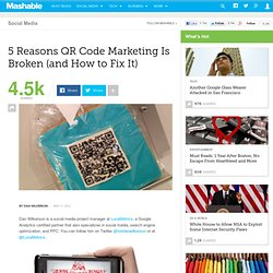 5 Reasons Your QR Codes are Broken And How to Fix Them