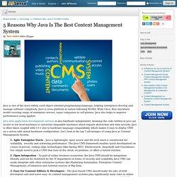 Content Management System using Java
