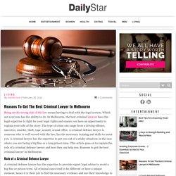 Reasons To Get The Best Criminal Lawyer In Melbourne