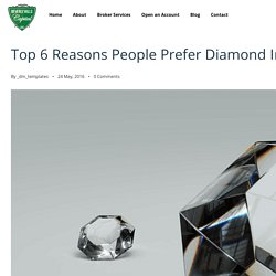 Diamond Investment, Invest In Diamonds With Pure Diamonds