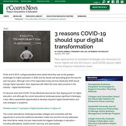 3 reasons COVID-19 should spur digital transformation