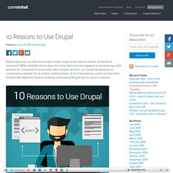 10 Reasons to Use Drupal - Blog