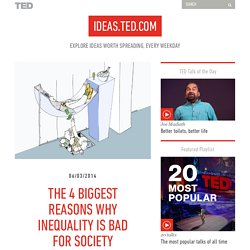 4 reasons we should fix economic inequality