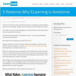 5 Reasons Why ELearning is Awesome