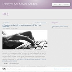 4 Reasons to Switch to an Employee Self Service Solution