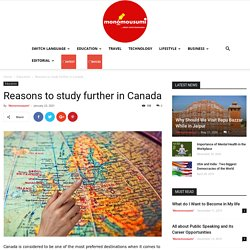Reasons to study further in Canada