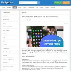 Reasons Swift Is the Future of iOS App Development