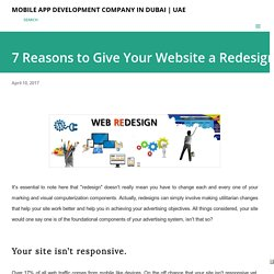 7 Reasons to Give Your Website a Redesign