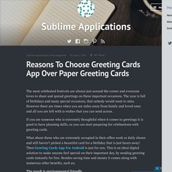 Greeting Cards App For Android
