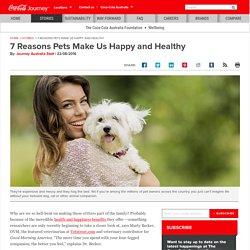 7 Reasons Pets Make Us Happy and Healhty: Coca-Cola Australia