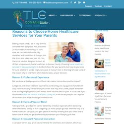 Reasons to Choose Home Healthcare Services in Nassau County NY