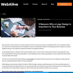 5 Reasons Why a Logo Design Is Important to Your Business