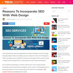 Reasons To Incorporate SEO With Web Design
