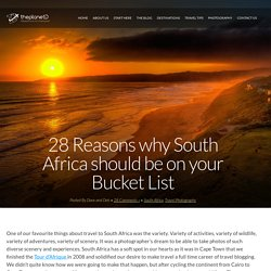 28 Reasons why South Africa should be on your Bucket ListThe Planet D: Adventure Travel Blog