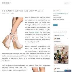 The Reasons Why We Love Cork Wedges – cicihot
