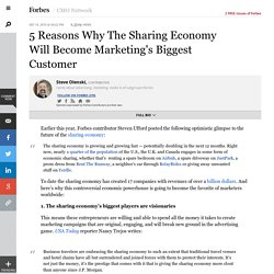 Marketing for the sharing economy? Focus on millenials