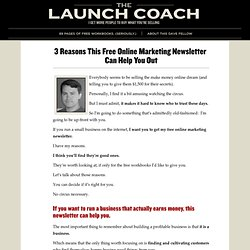 Get Free Access To The Launch Coach Library