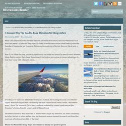 5 Reasons Why You Need to Know Momondo for Cheap Airfare ~ Reservations Number