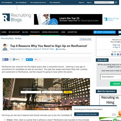 Top 8 Reasons Why You Need to Sign Up on Recfluence!