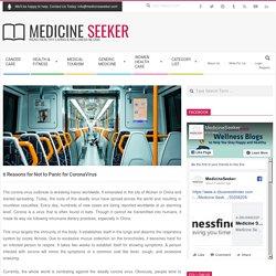 6 Reasons for Not to Panic for CoronaVirus, Free CoronaVirus Guest Post & Blogs Guest Blog