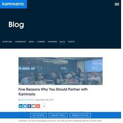 Five Reasons Why You Should Partner with Kaminario - Kaminario
