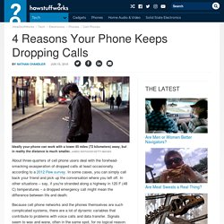 4 Reasons Your Phone Keeps Dropping Calls