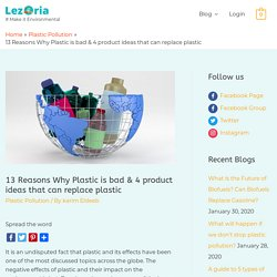 13 Reasons Why Plastic is bad & 4 product ideas that can replace plastic - Le...