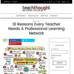 10 Reasons Every Teacher Needs A Professional Learning Network -