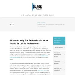 4 Reasons Why The Professionals' Work Should Be Left To Professionals