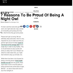 7 Reasons To Be Proud Of Being A Night Owl