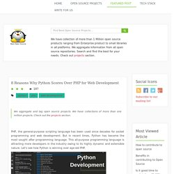 8 Reasons Why Python Scores Over PHP for Web Development