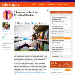 5 Reasons to Read for Reluctant Readers