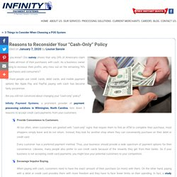 """3 Reasons to Reconsider Your """"Cash-Only"""" Policy"""