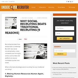 Why Social Recruiting Beats Traditional Recruiting