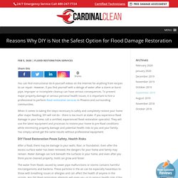 Hire Flood Restoration Specialists to Restore your Home