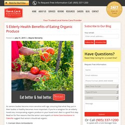 5 Reasons Why Seniors Should Eat Organic