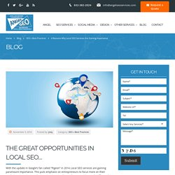 Local SEO Services Are Gaining Importance