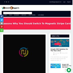 Reasons Why You Should Switch To Magnetic Stripe Card