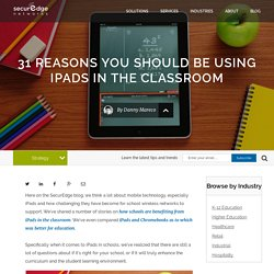 31 Reasons You Should Be Using iPads in the Classroom