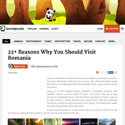 22+ Reasons Why You Should Visit Romania